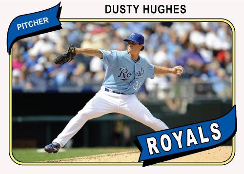 Dusty Hughes 1980 Topps