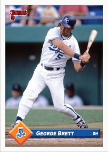 George Brett 1993 Donruss