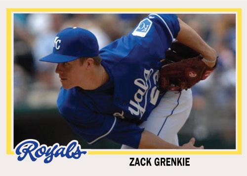 Zack Greinke 1978 Topps