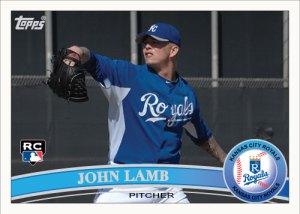 John Lamb 2011 Topps