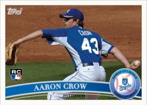 Aaron Crow 2011 Topps