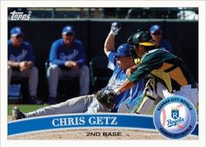 Chris Getz 2011 Topps