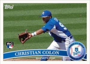Christian Colon 2011 Topps