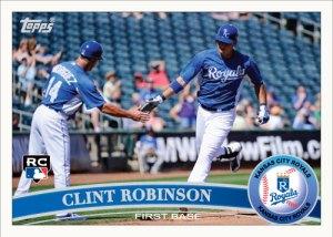 Clint Robinson 2011 Topps