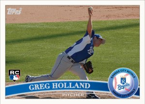Greg Holland 2011 Topps