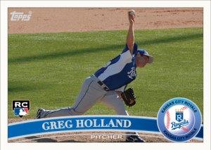 Greg Holland 2011 Topps