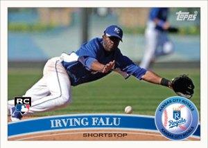 Irving Falu 2011 Topps