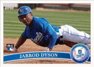 Jarrod Dyson 2011 Topps