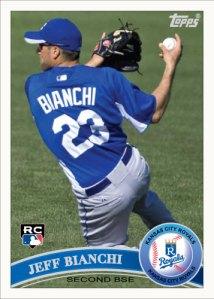 Jeff Bianchi 2011 Topps