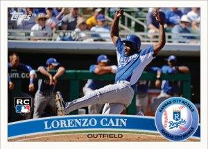 Lorenzo Cain 2011 Topps