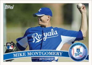 Mike Montgomery 2011 Topps