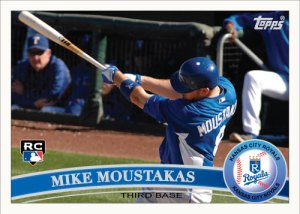 Mike Moustakas 2011 Topps