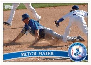 Mitch Maier 2011 Topps