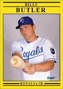Billy Butler 1991 Fleer
