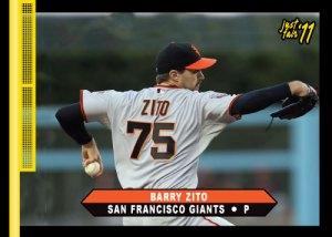 Giants Barry Zito