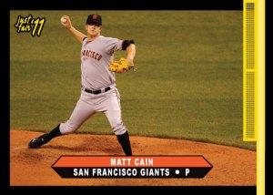 Giants Matt Cain