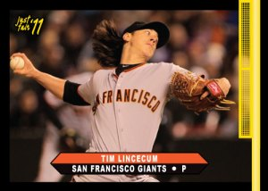 Giants Tim Lincecum