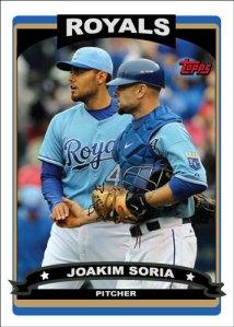 Joakim Soria 2006 Topps custom card
