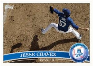 Jesse Chavez 2011 Topps