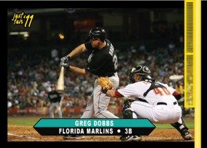Marlins Greg Dobbs Just Fair 2011