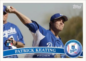 Patrick Keating 2011 Topps