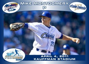 Royals Futures Game Mike Montgomery