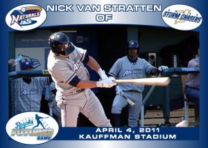Royals Futures Game Nick Van Stratten