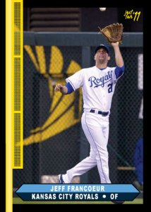 Royals Jeff Francoeur Just Fair 2011
