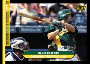 Athletics David Dejesus Just Fair 2011