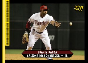 Diamondbacks Juan Miranda