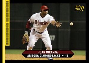 Diamondbacks Juan Miranda