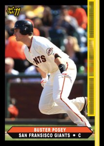 Giants Buster Posey custom card