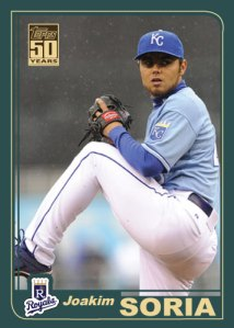 History Of Joakim Soria 2001 Topps custom card