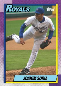 History Of Joakim Soria 1990 Topps custom card