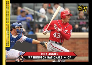 Nationals Rick Ankiel Just Fair 2011