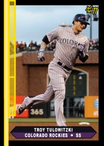 Rockies Troy ulowitzki Just Fair custom card