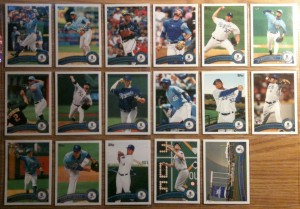 Kansas City Royals 2011 Topps Stadium Set