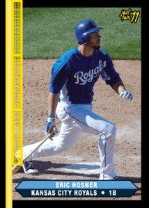 Royals Eric Hosmer Just Fair custom card