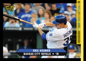 Royals Eric Hosmer 2011 Just Fair custom card