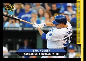 Royals Eric Hosmer 2011 Just Fair custom card