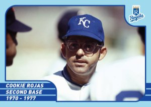 Royals Greats Cookie Rojas