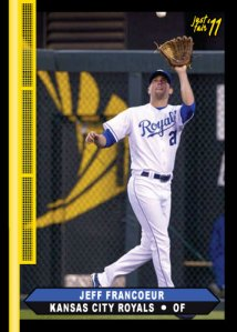 Royals Jeff Francoeur 2011 Just Fair custom card