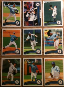 Kansas City Royals Topps Series 1 complete set