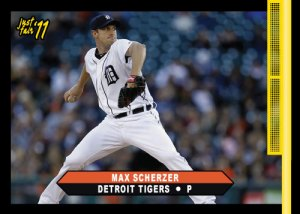Tigers Max Scherzer custom card