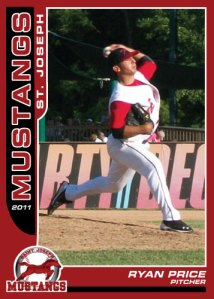 2011 Mustangs Ryan Price