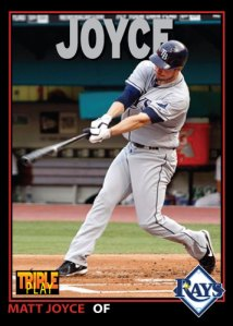 Matt Joyce 1993 Triple Play custom card