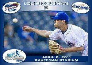 Royals Futures Game Louis Coleman