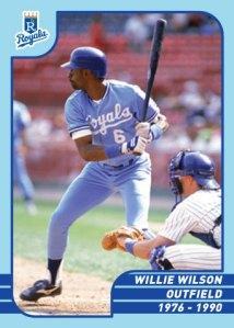 Royals Greats Willie Wilson