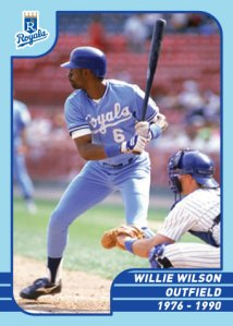 Royals Greats Willie Wilson