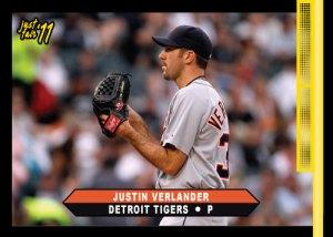 Tigers Justin Verlander Just Fair custom card